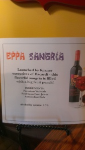 Sangria reminiscent of the Spanish Sangria Carlos' Father used to make.
